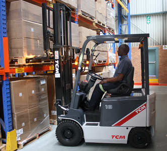 job for forklift driver in durban